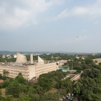 Capitol Complex, Chandigarh, India.